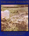 Board Game: The Great Invasion: The Gettysburg Campaign June 24 – July 3, 1863