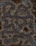 RPG Item: VTT Map Set 203: Winding Tunnels