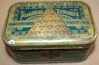 Board Game: Triangular Dominoes