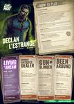 RPG Item: City of Mist Starter Set Playbooks