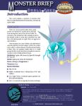 RPG Item: Monster Brief: Small Foes