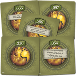 Board Game: The 7th Continent: BGG Promo Cards