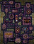 RPG Item: VTT Map Set 200: Search for the Son of Sunlight