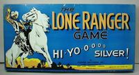 Board Game: The Lone Ranger Game