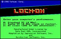 Video Game: Lock-On
