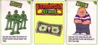 Board Game: Lemonade Stand: Kickstarter Promo Cards