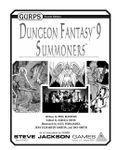 RPG Item: GURPS Dungeon Fantasy 09: Summoners