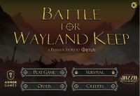 Video Game: Battle for Wayland Keep