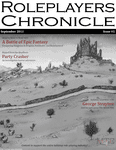 Issue: Roleplayers Chronicle (Issue 1 - Sep 2011)
