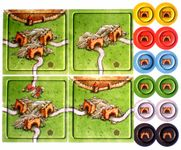 Board Game: Carcassonne: Der Tunnel