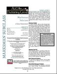 RPG Item: Marksman Subclass