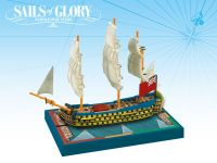 Board Game: Sails of Glory Ship Pack: HMS Royal George 1788 / HMS Hibernia 1804