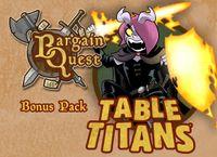 Board Game: Bargain Quest: Table Titans
