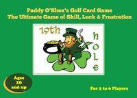 Board Game: Paddy O'Shea's Golf Card Game