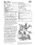 RPG Item: Bizarre Beasties #5: The Tricephalodon