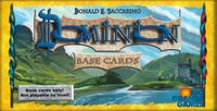 Board Game Accessory: Dominion: Base Cards