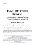 RPG Item: CALI4-1: Plain of Stone Spiders