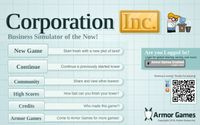 Video Game: Corporation Inc.
