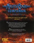 RPG Item: MasterBook Companion