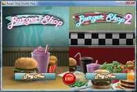 Video Game Compilation: Burger Shop Double Pack