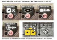 Board Game: Eclipse: Rise of the Ancients – The Tractor Beam