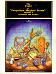 """RPG Item: The Tome of """"Forgotten Magical Items"""" Volume I: Weapons and Armor"""