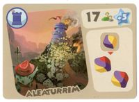 Board Game: Monster Lands: Aleaturrim Promo Card