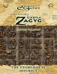 RPG Item: CZ12: Castle Zagyg: The Free Town of Yggsburgh – The Storehouse District