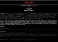 RPG Item: Alacrity
