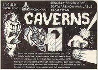 Video Game: Caverns (1983)