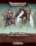 RPG Item: Law & Destiny: A Guide to Arbiters and Seers