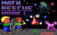 Video Game: Math Rescue
