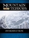 RPG Item: Mountain Terrors: Introduction