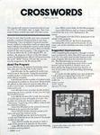 Video Game: Crosswords (1983)