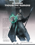 RPG Item: A Dozen Troubling Rumors (Revised)