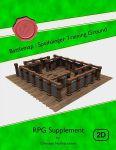 RPG Item: Battlemap: Spellslinger Training Ground