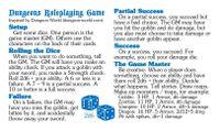 RPG Item: Dungeons Roleplaying Game