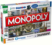 Board Game: Monopoly: Redditch edition