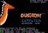 Video Game: Dungeon!
