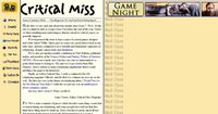 Issue: Critical Miss (Issue 8 - Summer 2002)