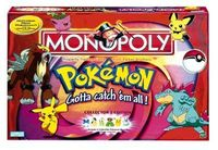 Board Game: Monopoly: Pokémon Gold and Silver