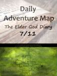RPG Item: Daily Adventure Map 024: The Elder God Diary 7/11