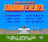 Video Game: Stadium Events