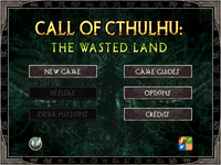 Video Game: Call of Cthulhu: The Wasted Land