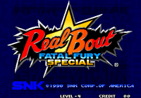 Video Game: Real Bout Fatal Fury Special
