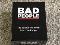 Board Game: Bad People