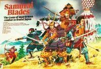 Board Game: Samurai Blades: The Game of Man-to-Man Combat in Feudal Japan