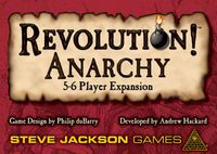 Board Game: Revolution! Anarchy