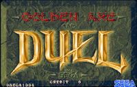 Video Game: Golden Axe: The Duel