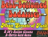 Board Game: Bell-Bottomed Badassses on the Mean Streets of Funk